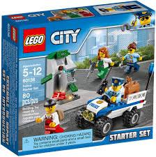 Download Lego City Police Starter Set Clipart LEGO 60136 City Police ...