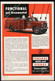 100 Fire Truck Sirens 1957 Federal Signal Fire Engine Truck Siren Ray Light Monocacy PA