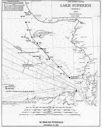 Edmund Fitzgerald Sinking Location by Weather Events The Edmund Fitzgerald Storm