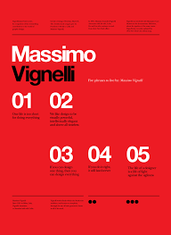 Vignelli Forever Posters By Anthon Neil Dart