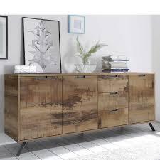 esszimmer sideboard in altholz optik und anthrazit industry design