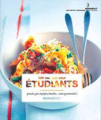 recette de cuisine equilibre recette de cuisine pour étudiant 7 livres pour bien cuisiner avec