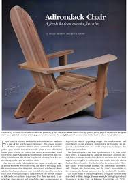 Folding Adirondack Chair Woodworking Plans by Build Adirondack Chairs U2022 Woodarchivist