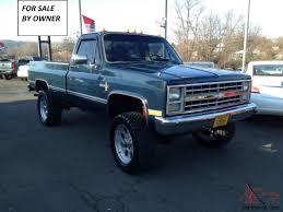 100 1986 Chevy Trucks For Sale Chevrolet K30 1ton 4x4 Original 454 Big Block Truck