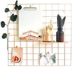 anzome deko gitter pinnwand das wandgitter gold wird für fotos memoboard kunstspeicher hängende wanddekoration im schlafzimmer küche