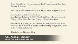 100 Food Truck Industry Senor Sisig Hungry For Growth In The Case Study