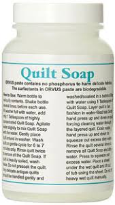 Orvus Quilt Soap How to use it where to find it