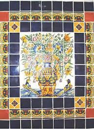 kristi black designs murals of talavera tile or wrought iron