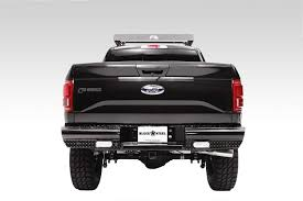 100 Truck Bumpers Aftermarket Black Steel Ranch Rear Bumper Accessories