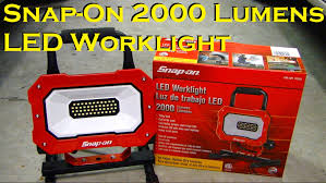 snap on 2000 lumens led worklight 922261