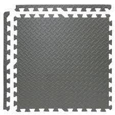 Foam Tile Flooring Sears by Foam Tile Flooring With Diamond Plate Texture U2013 Gurus Floor