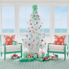 Seashell Christmas Tree Topper by Decorating Coastal Christmas Trees Coastal Living