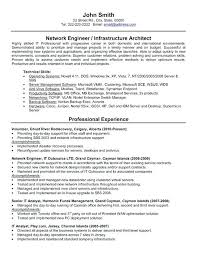Sample Ses Resume Best Network Engineer Templates Samples On 5 Page