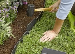 Garden Bed Edging Ideas thebutchercover