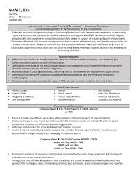 Accountant Resume Example And 5 Great Tips To Writing One