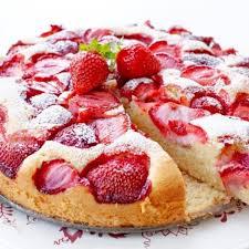 weicher kuchen mit erdbeeren einfache kuchen rezepte