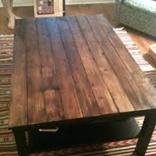 homemade wood coffee table u2013 thelt co