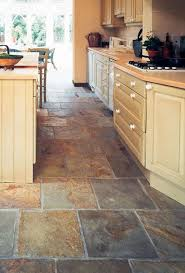Best Flooring For Kitchen And Bath by Slate Floor Keeping That Same Tile In The Bathroom Just Smaller