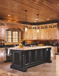 prime log cabin kitchen ideas