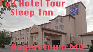 Full Hotel Tour Sleep Inn Hagerstown MD