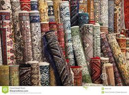 magasin de tapis tapis colorés dans le magasin image stock image 49091789