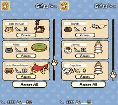 Picture Of Fish Money And The Neko Atsume Store