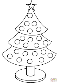 Click The Christmas Tree Coloring Pages To View Printable