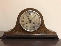 100 Mauthe Vintage Antique Mantle Clock