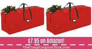 HOT Zober Christmas Tree Storage Bag ONLY 795 On Amazon