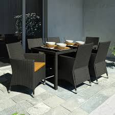 Lowes Canada Patio Furniture by Sonax Z 506 Tpp Park Terrace Seven Piece Patio Dining Set At