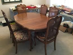 Solid Maple Dining Room Table-Six (6) Chairs | Green Auction Ding Room Oldtown Fniture Depot Maple And Suede Chairs Six 19th Century Americana Stick Back A Pair Chair Stock Image Image Of Room Interior 3095949 Brnan 5 Piece Set By Coaster At Michaels Warehouse G0030 W G0010 Glory Hard Rock Table Ideas Maple Ding Tables Grinnaraeco Museum Prestige Solid Wood Port Coquitlam Bc 6 Mid Century Blonde Wood Chairs Dassi Italian Art Deco With Upholstery Paul Mccobb Four Tback For The Planner Group