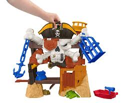 Off Powerpad Lamp And Lantern by Amazon Com Fisher Price Imaginext Blackbeard U0027s Lair Toys U0026 Games