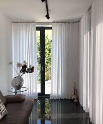 vorhang creme i modern halbtransparent blickdicht ohne struktur glatt i farbe weiß