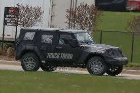 Update: EcoDiesel Engine Confirmed - First Look : 2018 Jeep Wrangler ... 2019 Jeep Wrangler Pickup Designed For Pleasure And Adventure Youtube Jt Truck Testing On Public Roads Shows Spare Tire Mount Reviews Price Photos Unwrapping The News Ledge Scrambler Interior 2018 With Pictures Car The New Is Called And It Has Actiontruck Jk Cversion Kit Teraflex Overview Auto Trend Youtube Diesel