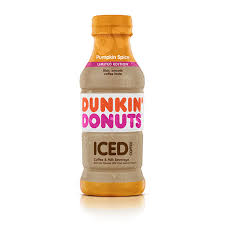 Dunkin Donuts Is Introducing New Bottled Pumpkin Spice Iced Coffee