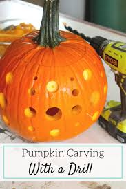 Drilled Pumpkin Designs by Pumpkin Carving With A Drill