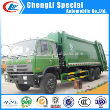 100 Waste Management Garbage Truck 10ton 16m3 Collection Compressed