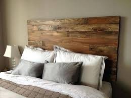 King Size Headboard Ikea by Wall Mounted King Headboard 7 Cool Ideas For Barn Wood King Wall