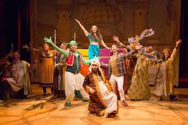 Aladdin at People s Light Saving the world through silliness