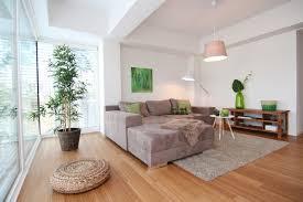 home staging offenes wohnzimmer im loft modern