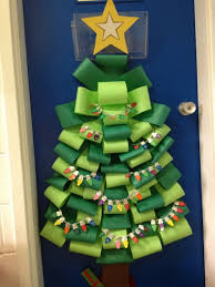 christmas classroom door decorations happy holidays