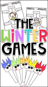 Winter Olympics Activities For Kindergarten And First Grade