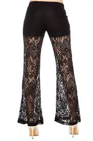 shosho flare lace pants w shorts 6lcp01 02