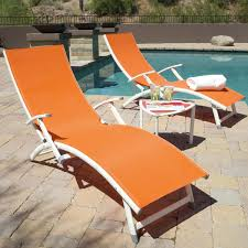 image of modern folding chaise lounge chair pvc outdoor chaise