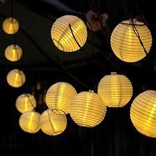 lantern solar string lights innoo tech outdoor globe lights 14 4