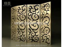 chinese abstract woodcarving screen fashionable screen