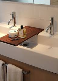Small Trough Bathroom Sink With Two Faucets by Best 25 Trough Sink Ideas On Pinterest Industrial Bathroom Sink