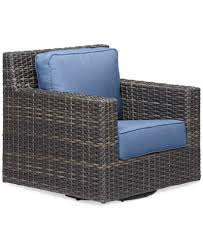 viewport wicker outdoor swivel glider created for macy s