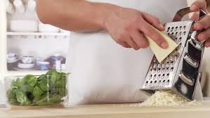 Stock Video Of Parmesan Being Grated