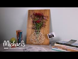 Michaels Art Desk Instructions by Flower Basket Plaque